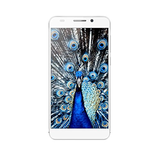 Huawei Honor 6 Dual SIM Dual Standby 3GB RAM 13MP 5,0 Zoll 4G LTE Unlock Smartphone - Versand aus Deutschland (32GB ROM, Weiß)