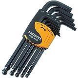 TRUSCO(トラスコ) ボールポイント六角棒レンチセット 標準タイプ 12本組 TBR-12S