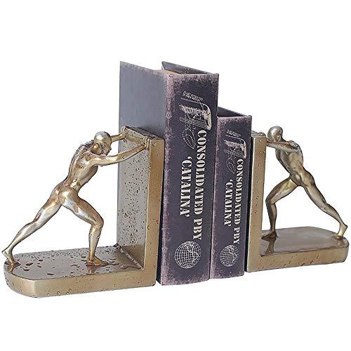 Zhongsufei-HM Titolare del Libro Office Desktop Bookends Bookshelf Decorativo Organizzatori di visualizzazione Desk Bookmark per Ufficio Scolastico libreria (Colore, Dimensione : 16.5x9.5x23cm)