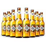 The Good Cider Apple - Sidra de Manzana, Sidra Natural de Sabores – Caja 12 botellas x 33 cl
