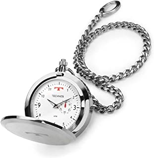 Relógio De Bolso Technos Masculino Heritage - 1L45BA/1B