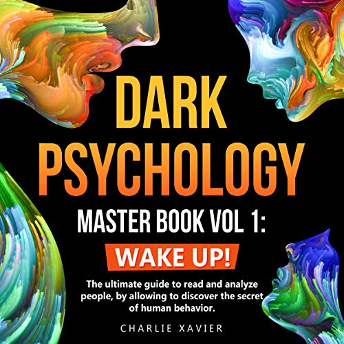 『Dark Psychology Master Book Vol 1: Wake Up!』のカバーアート