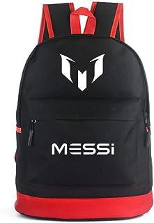School Backpack for Men Women Cristiano Ronaldo Lionel Messi Neymar Travel Student Backpack CR7 Bookbag for Boy Girl Children