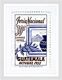 POSTAGE STAMP GUATEMALA 30 THIRTY CENTS OCTOBER 1953 CORN