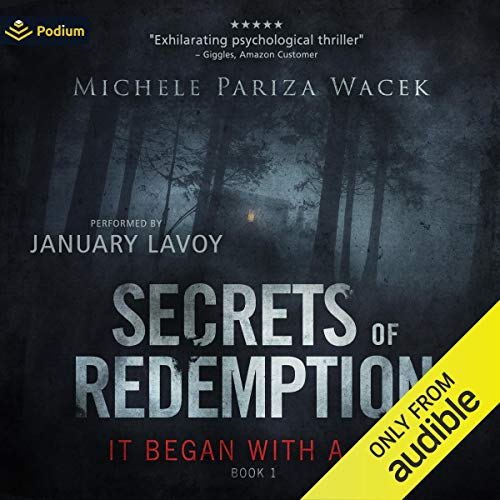 It Began with a Lie audiobook cover art