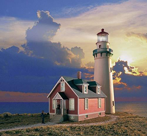 Walthers Cornerstone 933-3663 Zubehör-Rocky Point Leuchtturm