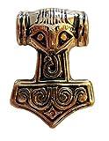 Germanenschmuck Colgante del martillo de Thor (colgante en oro)