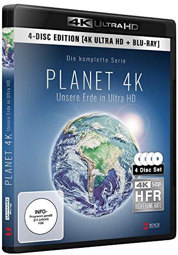 Planet 4K - Unsere Erde in Ultra HD (2 x 4K UHD-BD + 2 x BD) [Blu-ray]