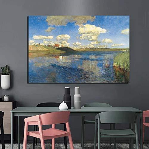 KWzEQ Sketcher Maler Wandkunst Leinwand Poster drucken Moderne Bild Wand Wohnzimmer Hauptdekoration,Rahmenlose Malerei,60x90cm