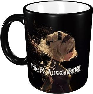 Nier ニーア オートマ マグカップ 電子レンジ対応 Zarkerカップ 耐高温 軽量 陶器 コーヒーカップ セラミック