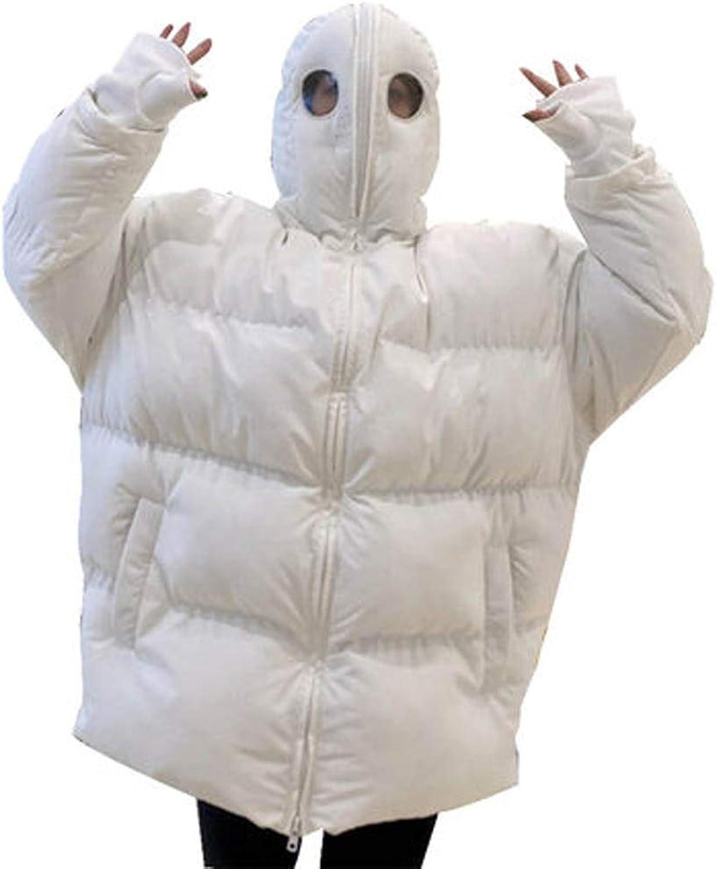 Eryron Women Winter Long Down Jacket Alien Jacket