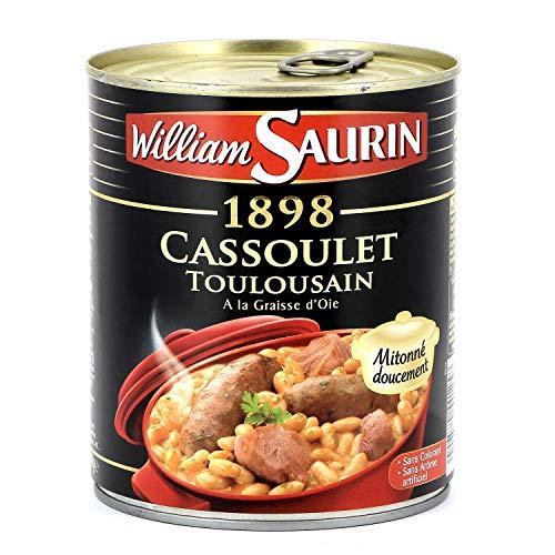 William Saurin Cassoulet Toulousain A la Graisse d'Oie mit Gänseschmalz 840g