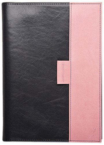 DayTimer Pink Ribbon Weekly and Monthly Planner with Reversible Cover 2015, Journal Size, 5.5 x 8.5 Inches Sheet Size (88864)