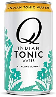 Q Mixers Indian Tonic Water, Premium Cocktail Mixer, 7.5 oz (12 Cans)