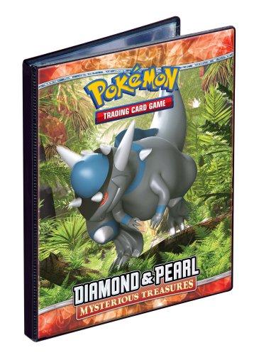 Pokemon Ultra PRO Diamond & Pearl Mysterious Treasures - Combo Album - 4 Pocket Portfolio Trading Card Album / Binder Out of Print image