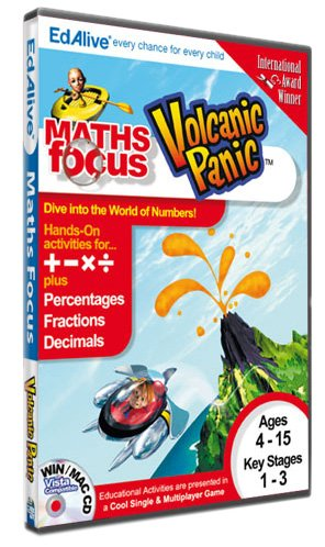 Numbers Up! Volcanic Panic (PC CD) [import anglais]