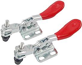 Newin Star DIY 2 piezas de metal con herramienta manual de palanca de la abrazadera de palanca de la abrazadera de liberación rápida horizontal abrazadera Push Pull Tipo Toggle Clamp