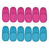 12PCS Amblyopia Eye Patch For Glasses, Children Weak Eye Patches for Strabismus Amblyopia, No irritation to skin (6 Pieces Pink, 6 Pieces Blue)