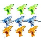 O-Kinee Pistole ad Acqua,9 PCS Mini Pistola ad Acqua,Squirt Pistola di Plastica,Pistola ad...