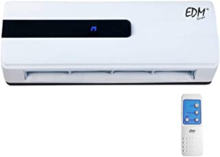 comprar comparacion Calefactor de pared split con mando 1000-2000W EDM 07206