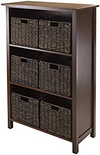 Granville 7pc Storage Shelf, 3-section with 6 Foldable Baskets RTM13480