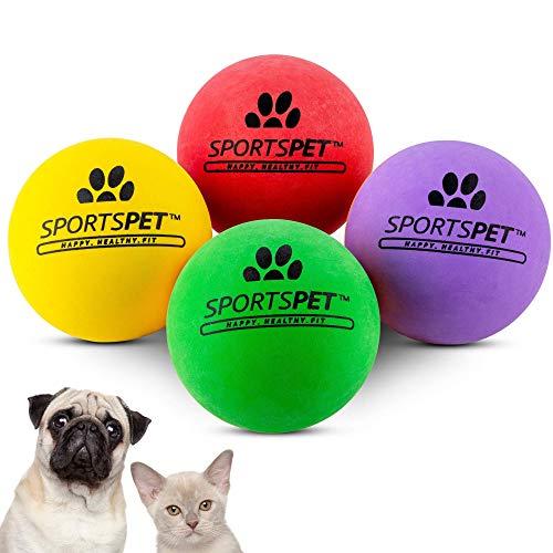 SPORTSPET Mini Bounce Ball für Katzen und Welpen