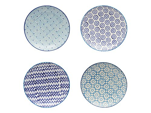 TABLE PASSION AAS3562042 Assiette, Multicolore, 20 X 20