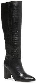 Womens Fenix Leather Pointed Toe Classic, Black Croco,...