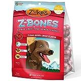 Zuke's Z-Bone Berry Edible Dental Dog Chew Regular