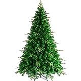 Inicio Equipo DYB Árbol de Navidad Decoración navideña Árboles Árbol de Navidad artificial Fácil montaje Patas de metal sólido Premium Resistente a las llamas Juego opcional de adornos de bolas de
