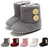 Infant Baby Boys Girls Cozy Fleece Booties Slippers Winter Baby Snow Boots Warm Newborn Crib Shoes