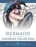 Mermaids - Calm Ocean Coloring Collection (Fantasy Coloring by Selina)