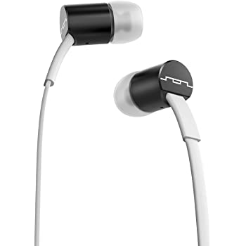 SOL REPUBLIC Jax Wired 3-Button In-Ear Headphones, Apple Compatible, Tangle Free Cable, In-Ear Noise Isolation, 4 Ear Tip Sizes, Great For Calls, 1111-31 White