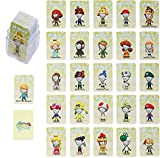 26 Tarjetas Miitopia NFC Amiibo, Compatible con Switch/Switch Lite/Wii U/New 3DS con Estuche para Tarjetas (Tamaño Mini)