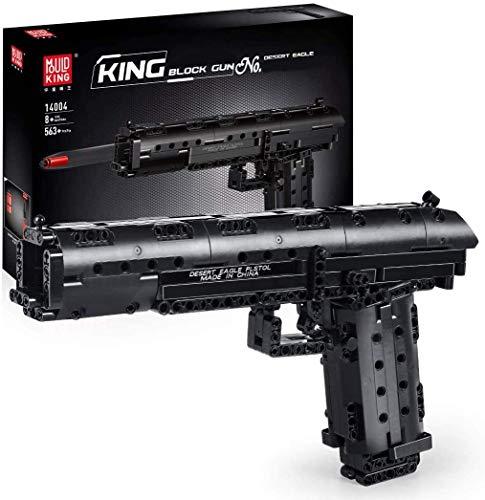 LNLJ 563 piezas de arma de águila del desierto arma SWAT bloques de construcción de ladrillos educativos para niños juguetes de bricolaje