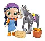 Simba Wissper Puppe 23 cm mit Pferd Herbert Pinguin Peggy Spielset ab 3 Jahren