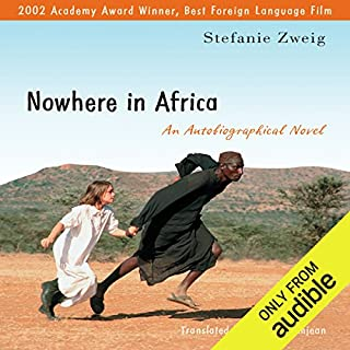 Nowhere in Africa audiobook cover art