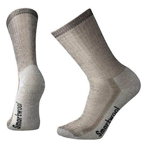 Smartwool Men's Hiking Medium Crew Sock (X-Large, Dark Brown)