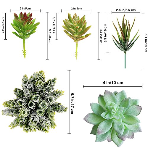 Supla Assorted Artificial Succulents-14 Pack