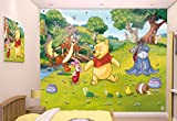 Walltastic Paper Walltastic Disney Winnie the Pooh Mural, Pack of 1