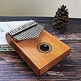17 Teclas De Piano Bull Kalimba Pulgar Cuerpo De Caoba Instrumento Musical Mejor Calidad Y Precio (Color : Crown of water)