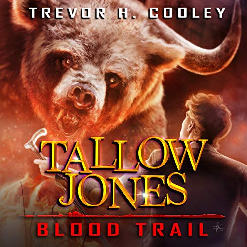 Tallow Jones, Blood Trail: An Urban Fantasy Detective Novel  cover art