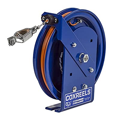 CoxreelsSpring Rewind Static Discharge Cable Reel