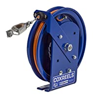 Coxreels SD-35 Spring Rewind Static Discharge Cable Reel: 35' cable by Coxreels