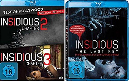 Insidious: Chapter 2-4 Teil 2+3+4 [Blu-ray Set]