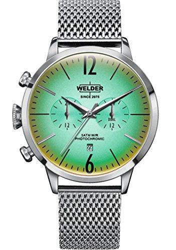 Welder Breezy Herren Uhr analog Quarzwerk mit Edelstahl Armband WWRC400