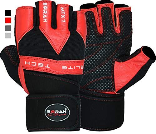EMRAH Men's Gloves (ROSSO, GRANDE)