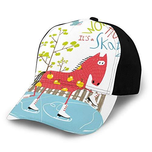 Gorra de béisbol para hombres y mujeres, ligera para deportes al aire libre, protección UV en verano de 22.4-23.7 pulgadas, Color21, S-M
