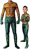 Zhenping Superhero Cosplay Jumpsuit Justice Superhero Costume Halloween 3D Spandex Zentai 170-175cm