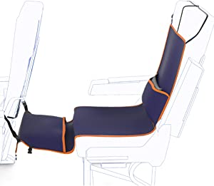 Ckssyao Multi-Functional Seat Cover  Long-Distance Aircraft Sleep Artifact Seat  Anti-Dirty  Hammock  Relax Body  Suitable for The Elderly  Children Rest Navyblue